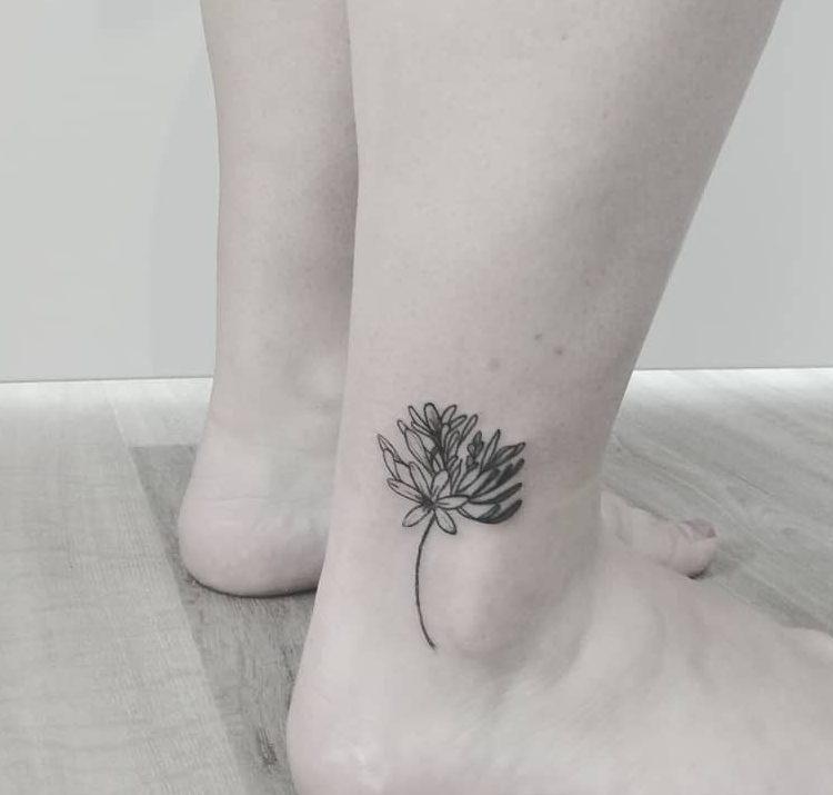 Floral Cute Tattoo Julie.tattooart