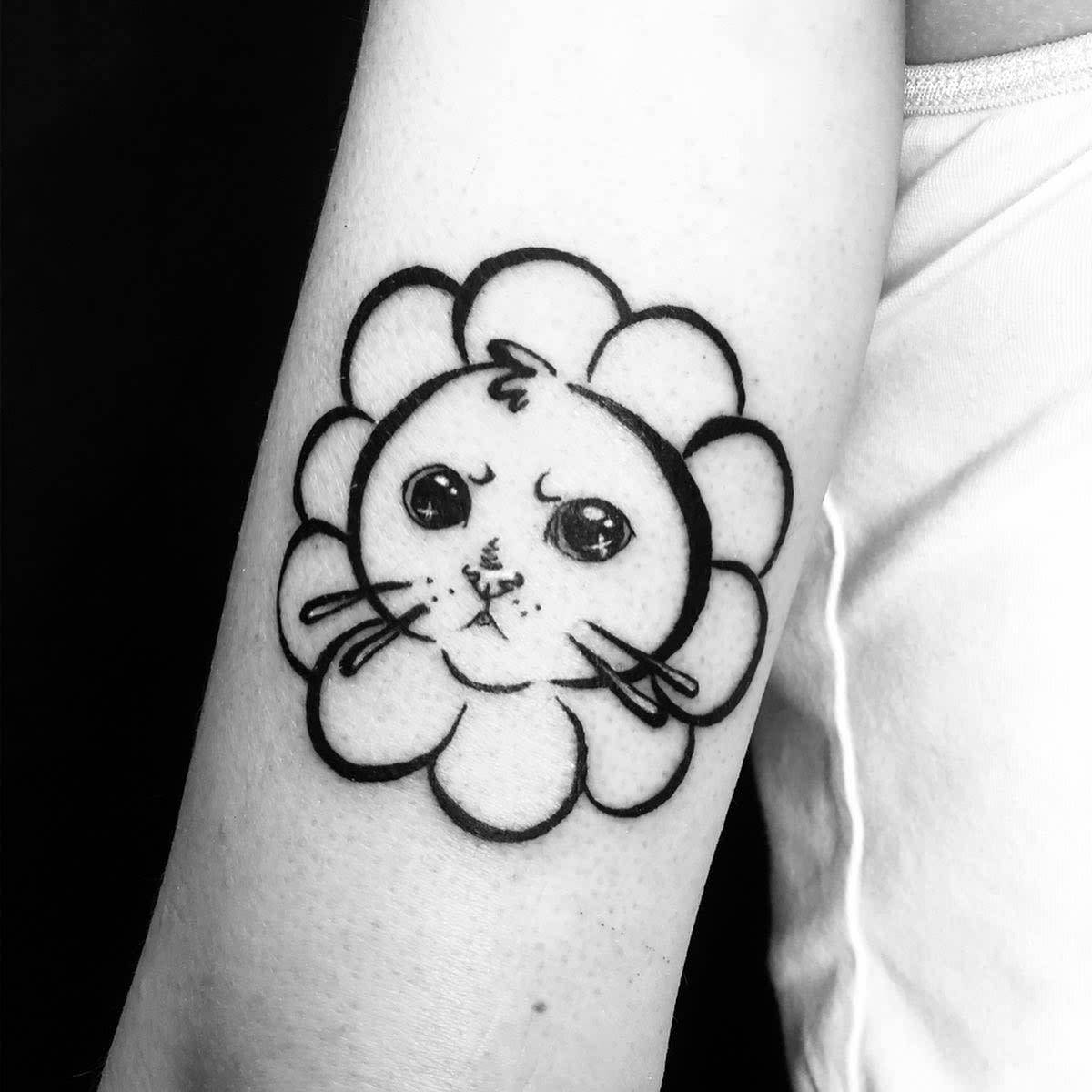 Floral Cute Tattoo Mirakazumi