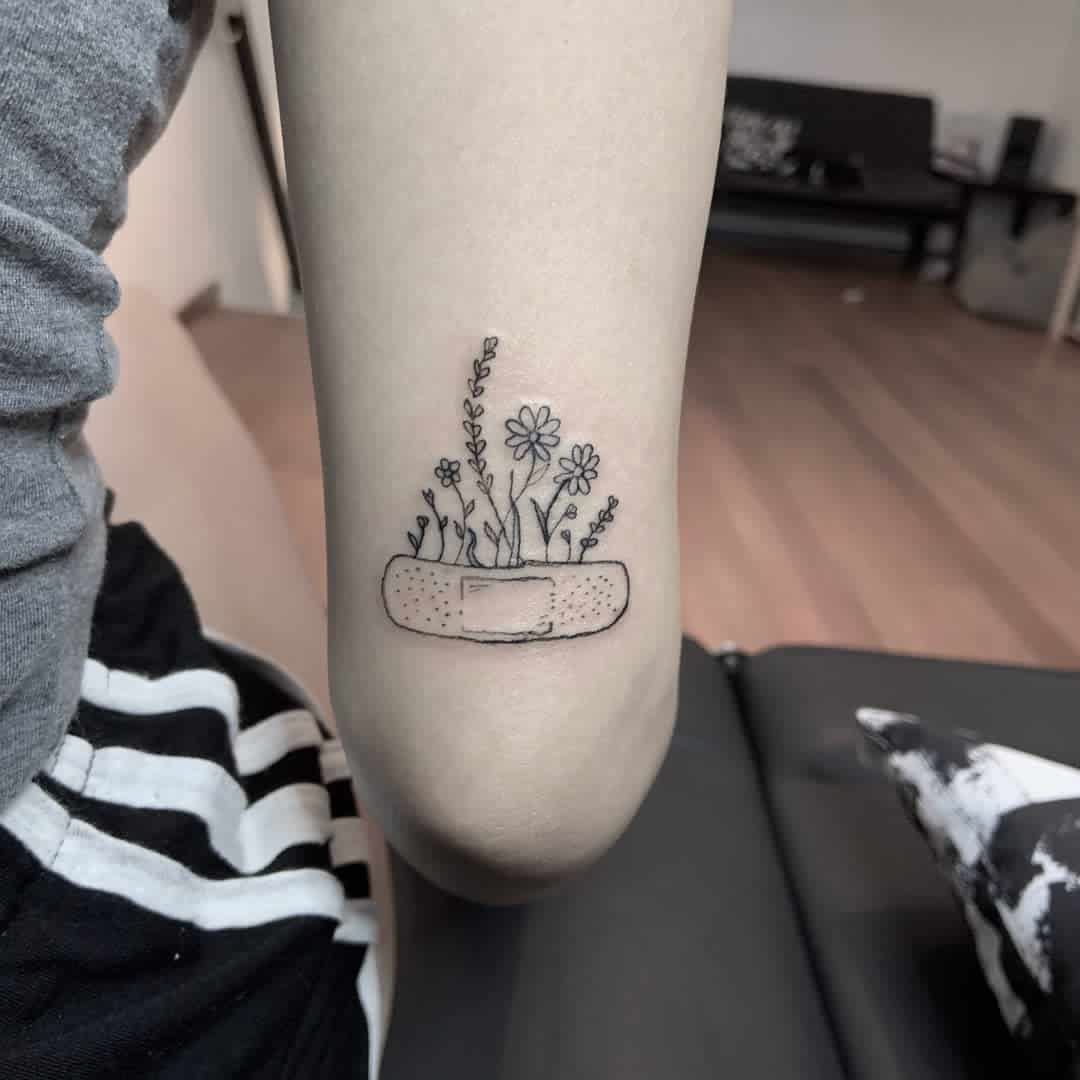 Floral Cute Tattoo Putsomething.there