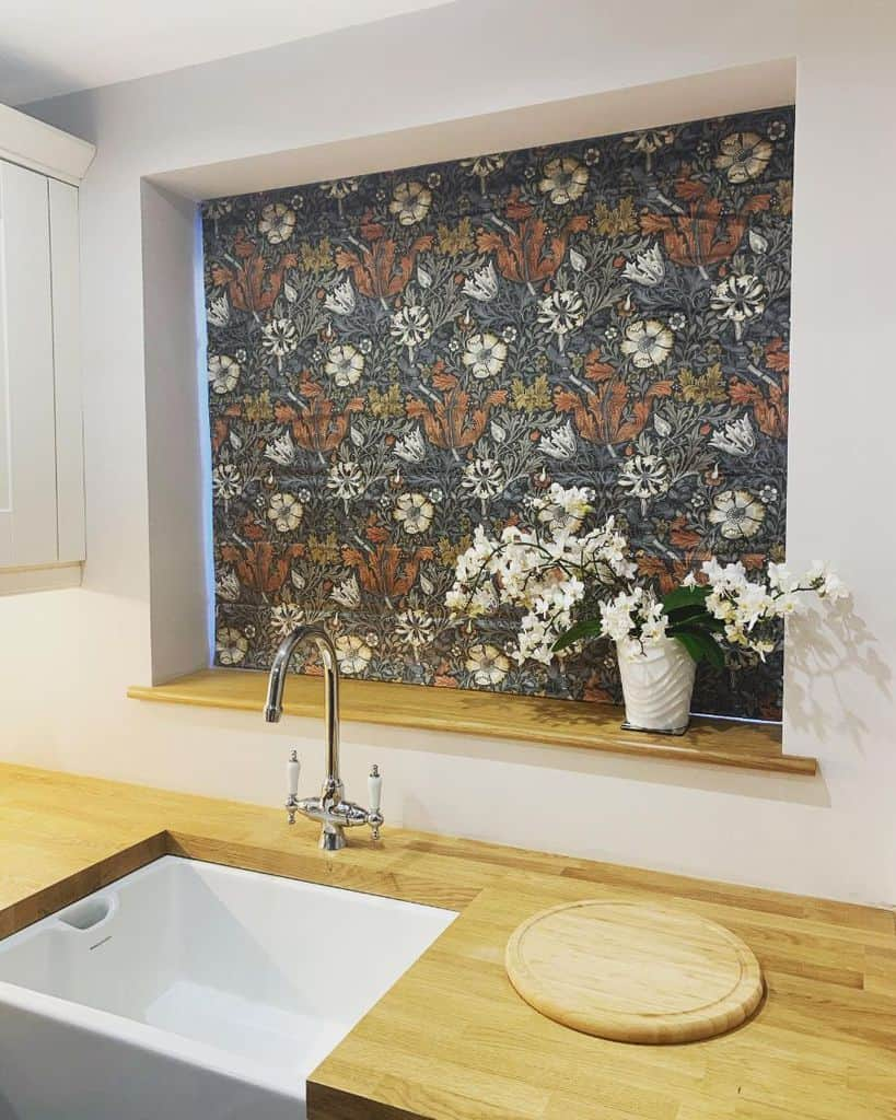 floral kitchen curtain ideas newhomenewbeginningnewmemories