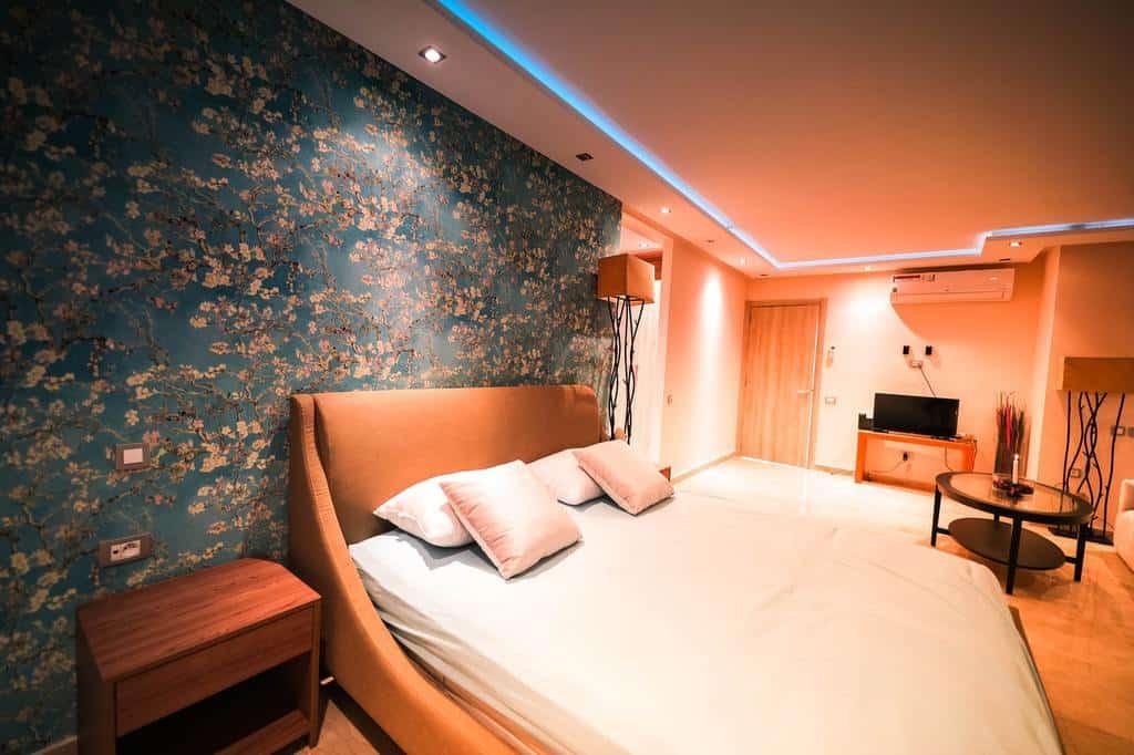 floral wallpaper bedroom wallpaper ideas