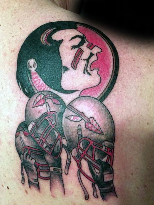 Florida State University Fsu Guys Tattoo Ideas On Upper Back Shoulder