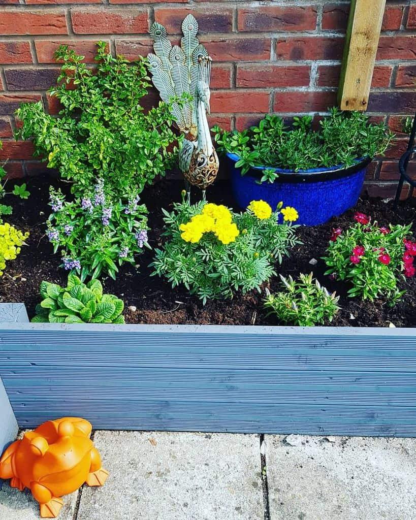 flower bed raised garden bed ideas towngardenhaven