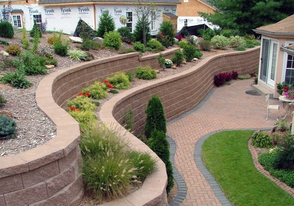 Flower Bed Retaining Wall Ideas