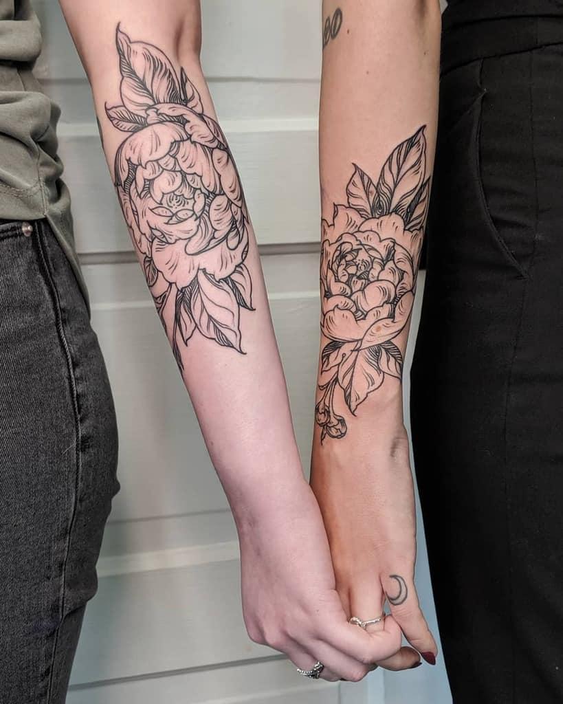 Flower Friendship Tattoo