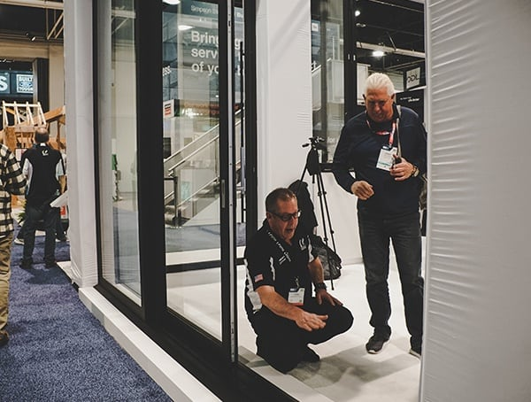 Flush Bottom With Floor Sliding Glass Patio Door 2019 Nahb Show