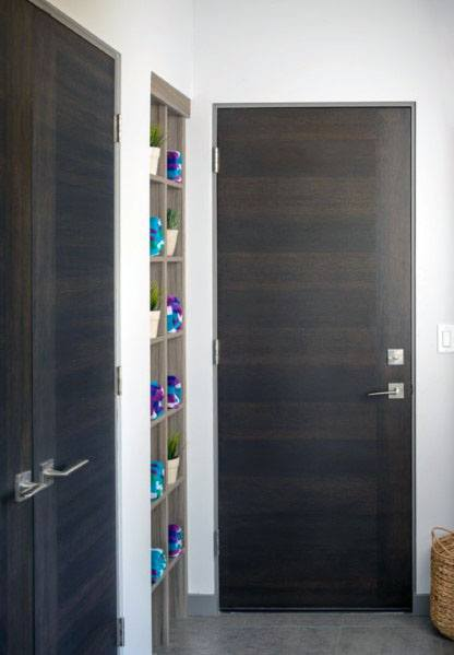 Flush Door Trim Design Inspiration With Modern Reveal Bead