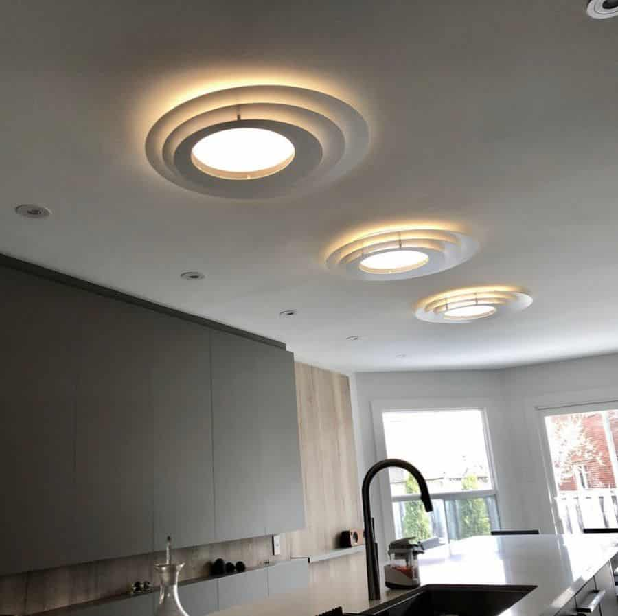 flush mount kitchen lighting ideas amstudio_lighting