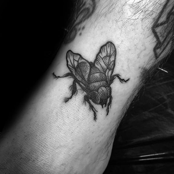Fly Male Tattoo Designs