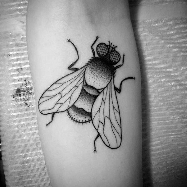 Fly Tattoo Designs For Guys