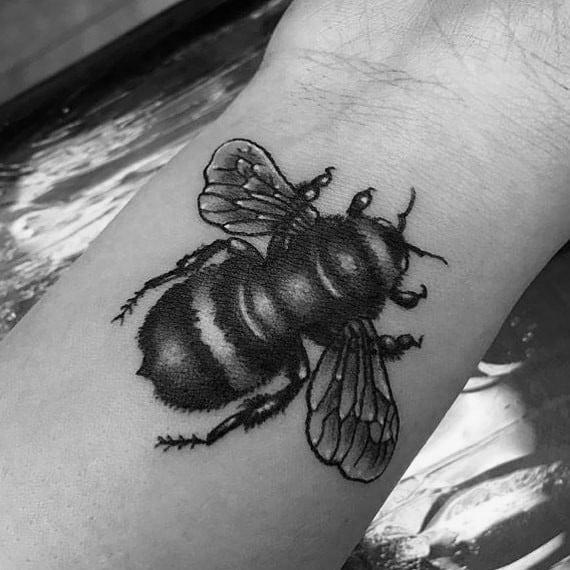 Fly Tattoos For Gentlemen