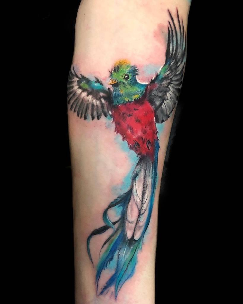Flying Quetzal Tattoos Missloretattoos