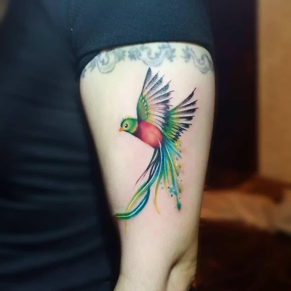 Flying Quetzal Tattoos Yukieriveratattoo