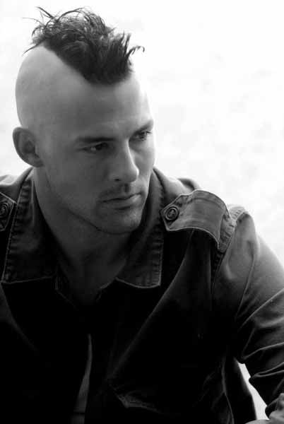 Fohawk Haircut For Men With Shaved Sides And Medium Length Top