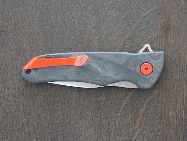 Folded Rear Buck Knives Sprint Pro Knife