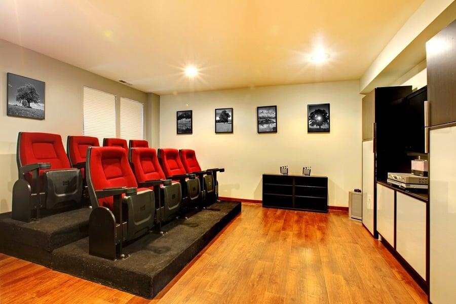 Home Theater Seats Interior Design