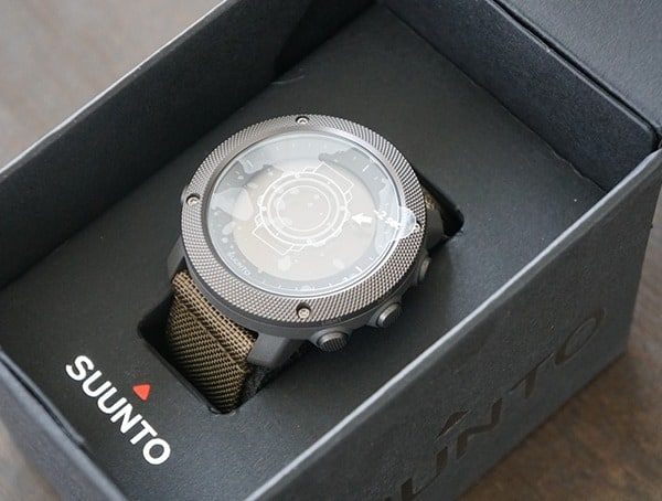 Foliage Suunto Traverse Alpha Reviews Watch Inside Box