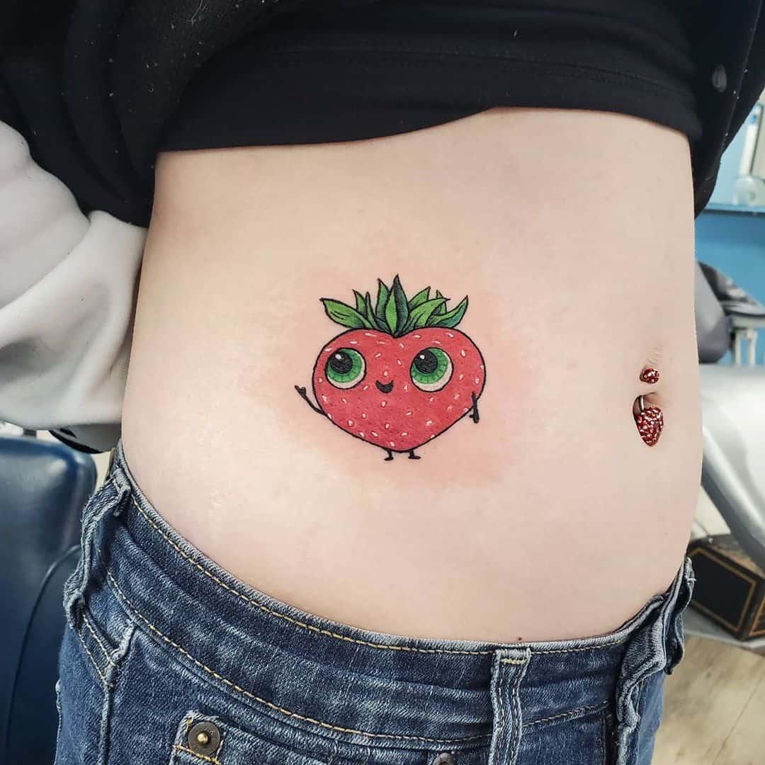 Food Cute Tattoo Jeni Moss