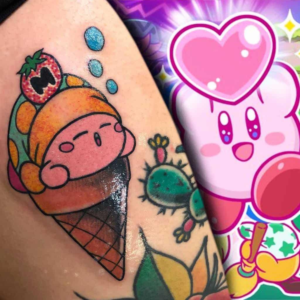 Food Kirby Tattoos Miguelmerctattoos Hcdp