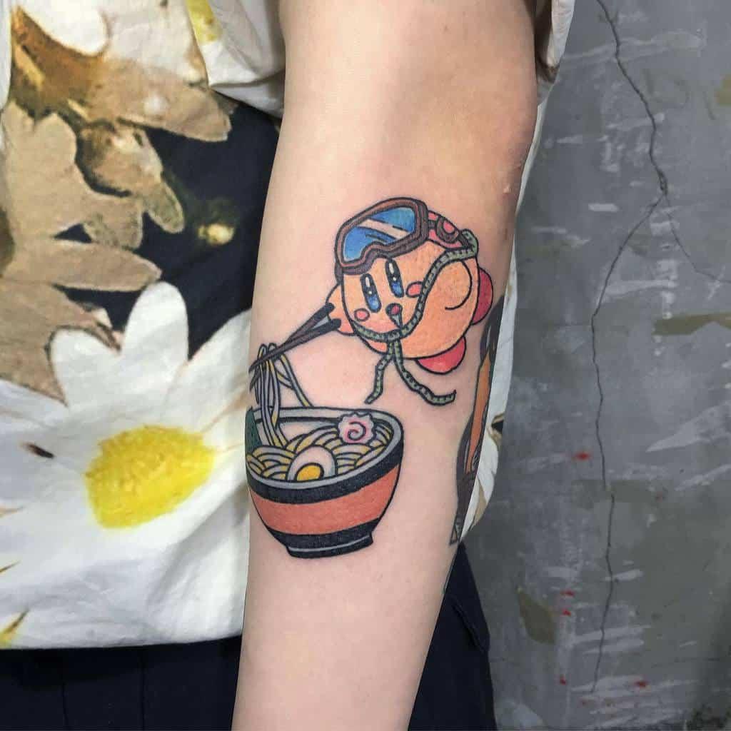 Food Kirby Tattoos Pangjiayu