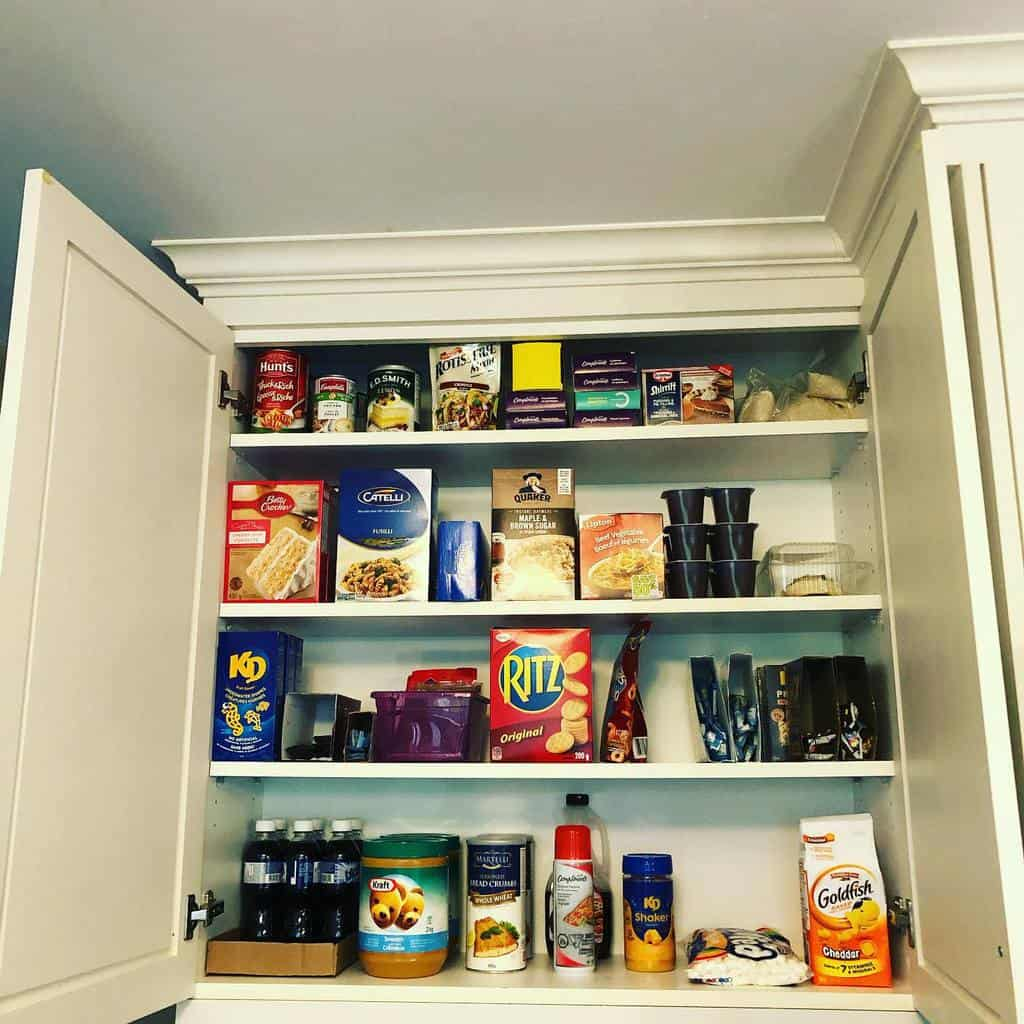 food storage kitchen organization ideas life.ofahousewife