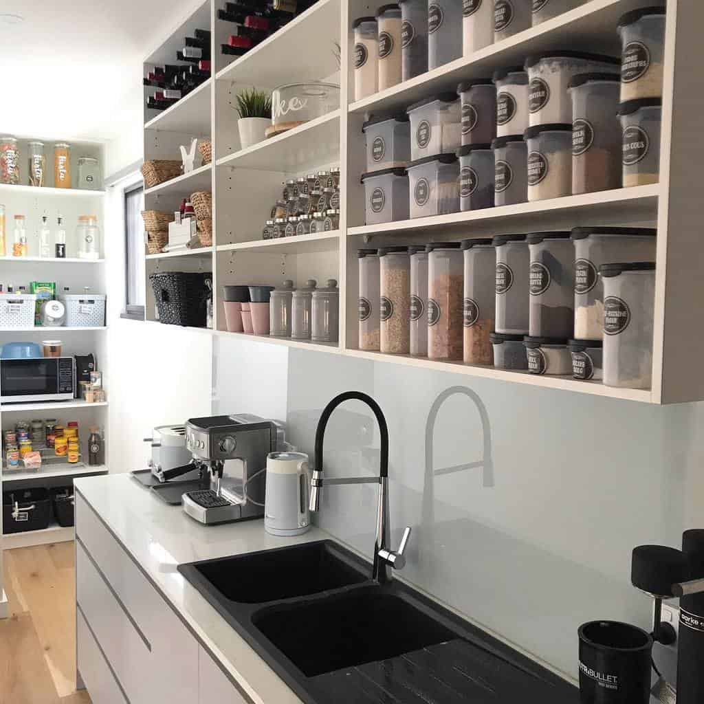 food storage kitchen organization ideas mountmarthahome