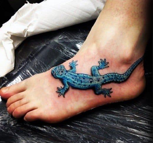 50 gecko tattoo designs for men reptile ink ideas. Black Bedroom Furniture Sets. Home Design Ideas