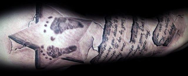Footprint Tattoos For Men