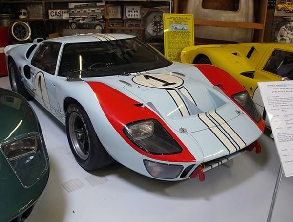 Ford Gt Mk Ii 427 Gt40 P 1015 Racing Coupe