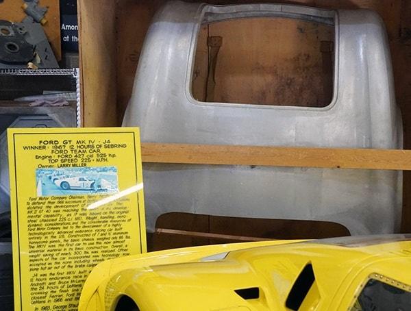 Ford Gt Mk Iv J4 Winner 1967 12 Hours Of Sebring Ford Team Car