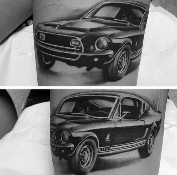 Ford Guys Tattoo Designs