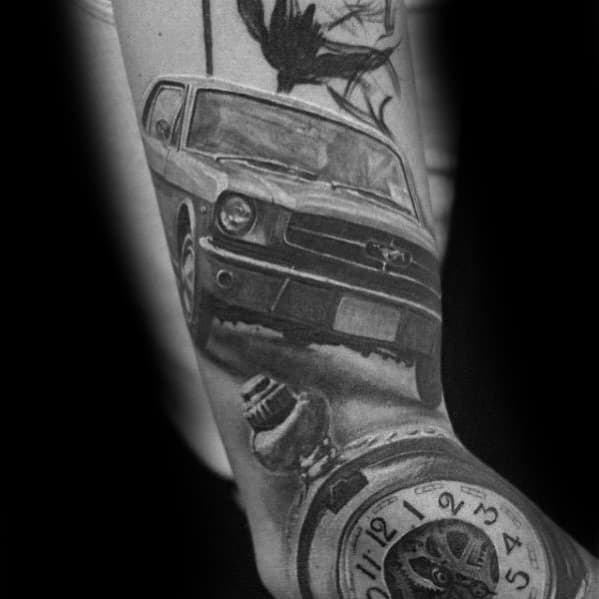 Ford Male Tattoos