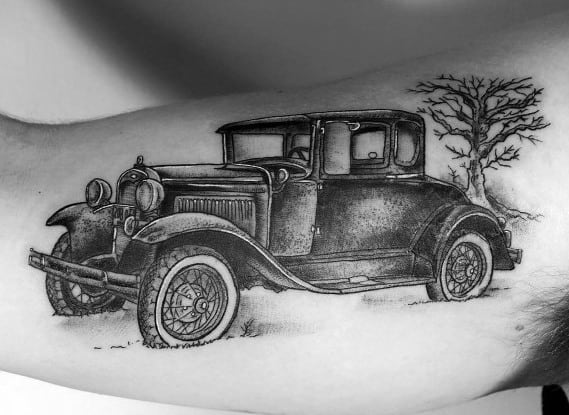 Ford Tattoo Design Ideas For Men