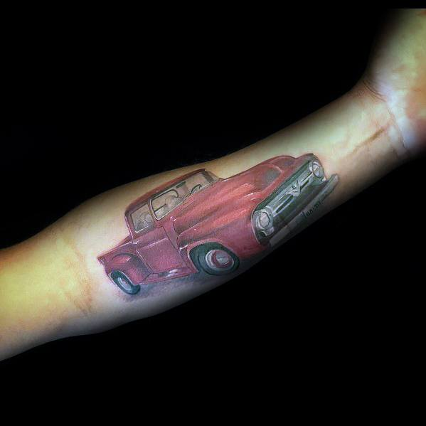 Ford Tattoo Designs For Men