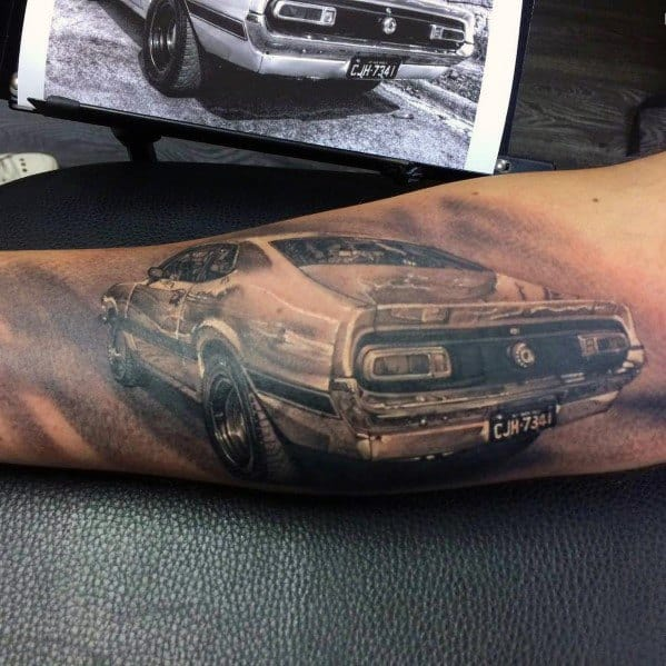 Ford Tattoo For Males