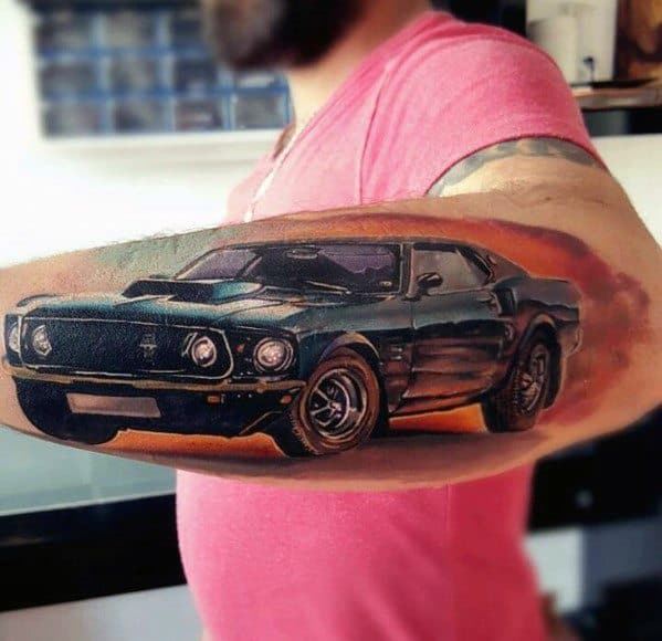 Ford Tattoo For Men