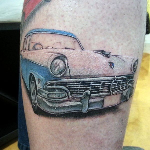 Ford Tattoo Ideas For Men