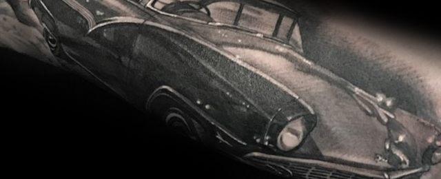 60 Ford Tattoos For Men – Automotive Design Ideas