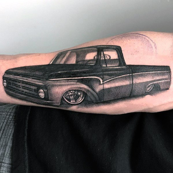 Ford Themed Tattoo Design Inspiration