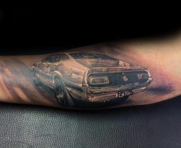Ford Themed Tattoo Ideas