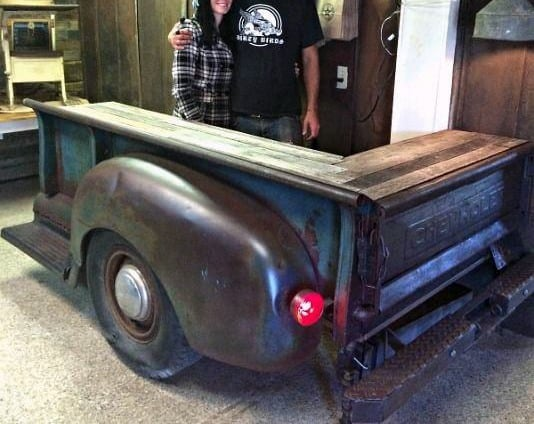 Ford Truck Garage Bar Ideas