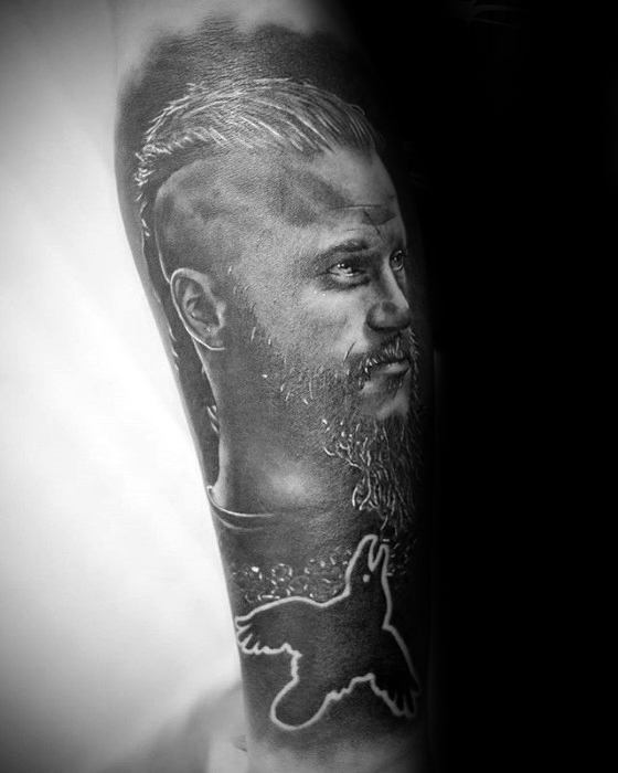 Forearm Amazing Mens Ragnar Tattoo Designs