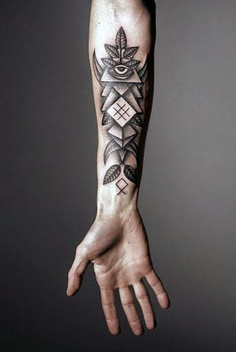 Forearm And Wrist Tattoos Men