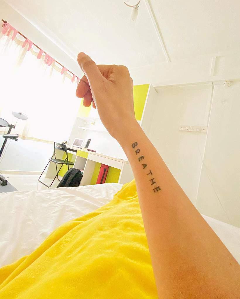 forearm breathe tattoos cessperience
