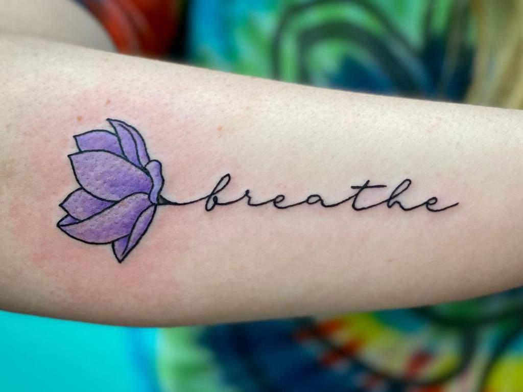 forearm breathe tattoos noluckjedi