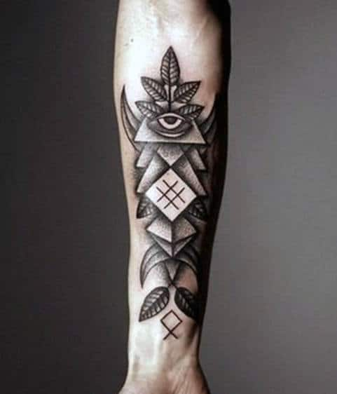 Forearm Cross Tattoo