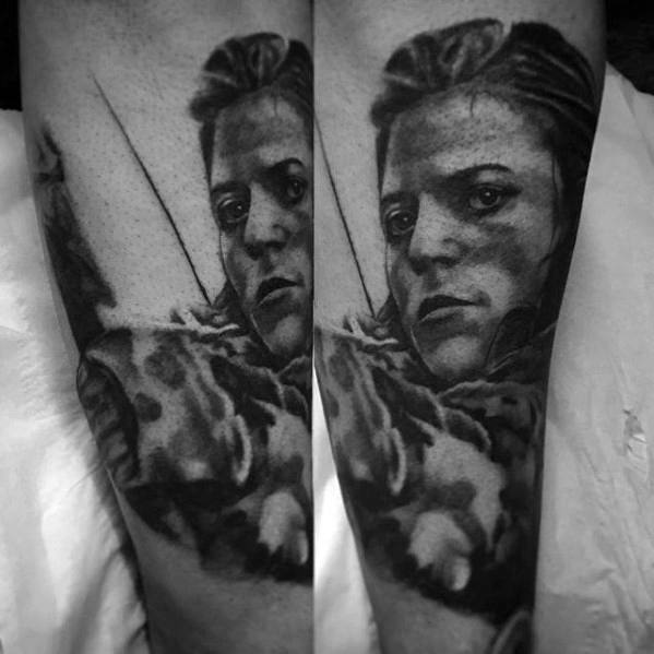 Forearm Distinctive Male Game Of Thrones Tattoo Designs