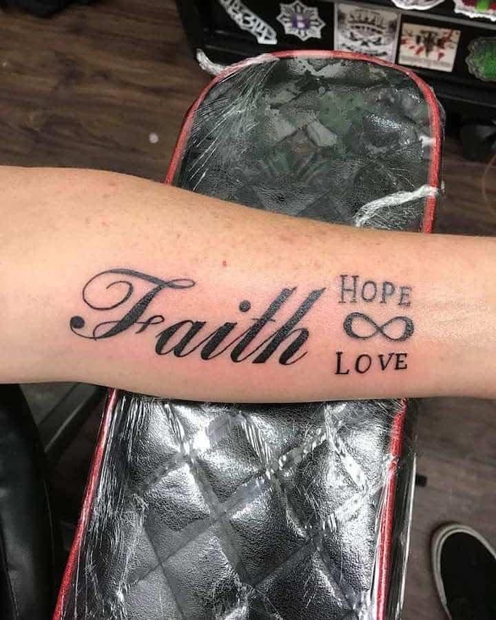 forearm faith hope love tattoos ratt182002