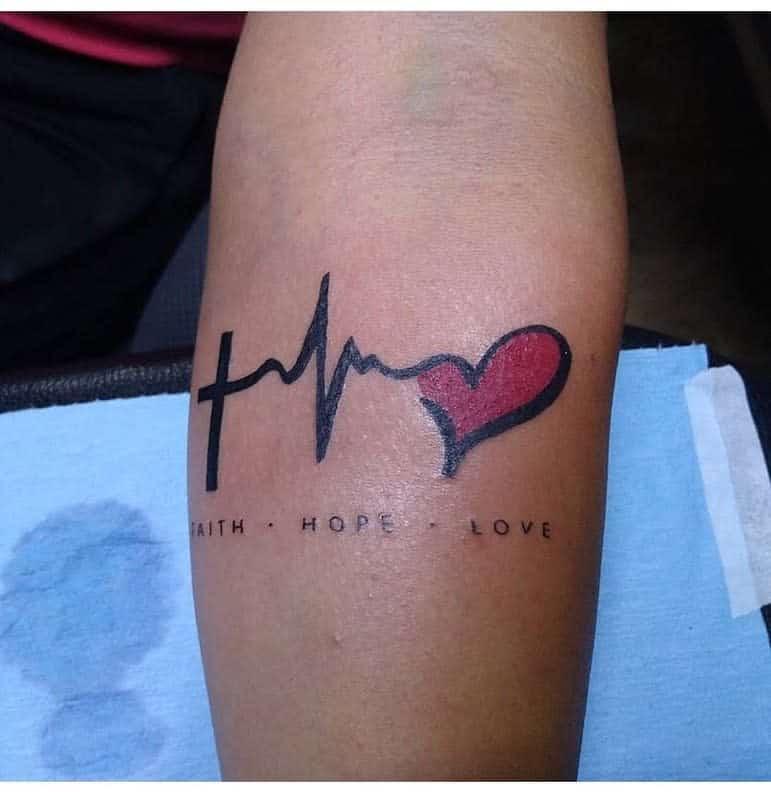 forearm faith hope love tattoos rosy_m_delgadillo