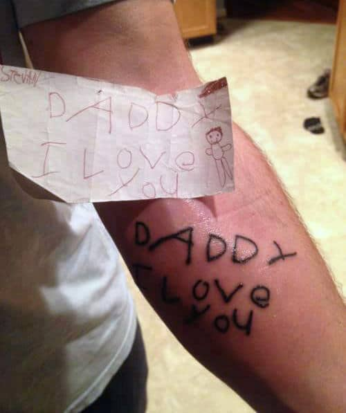 Tattoo Designs For Your Son